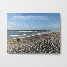 Marineland Florida Beach Metal Print