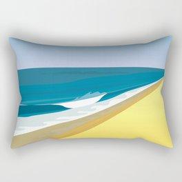 Rothko at the Beach Rectangular Pillow