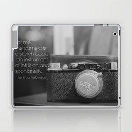 Camera Henri Cartier-Bresson Laptop & iPad Skin