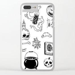 halloween flash Clear iPhone Case