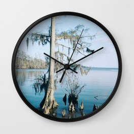 Crystalline Cypress Wall Clock
