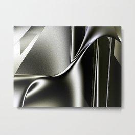 Sinuosity Metal Print