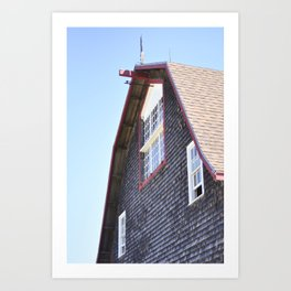 Deer Isle Series: Edgewood Barn Art Print
