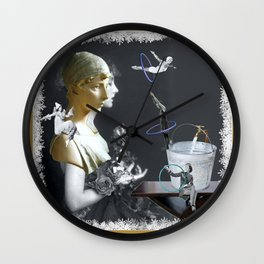 Hoop Diving in the Frost Wall Clock