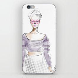 Sheer Imagination iPhone Skin