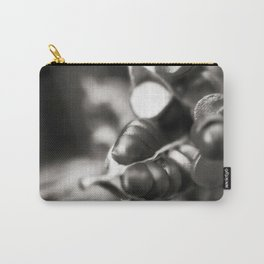 Flag Iris Seed Pod 1 Carry-All Pouch