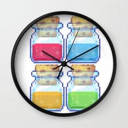 pick ur potion Wall Clock