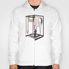 lady at the mirror Hoody