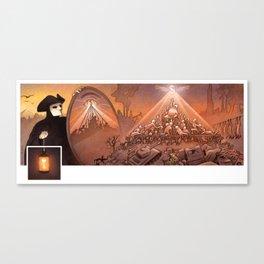 Pyramidal system Canvas Print