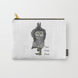 the tree pose Carry-All Pouch