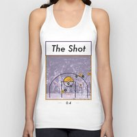 lakers Tank Tops featuring The Shot Series, Derek Fisher by Dyllin Shane