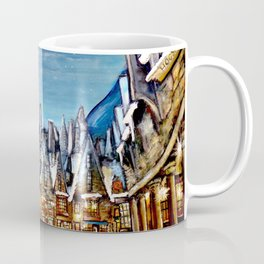 Wintry Hogsmeade Coffee Mug