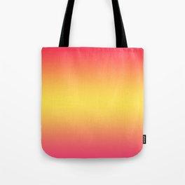 Ombre Anjo Raspberry Gold Gradient Tote Bag