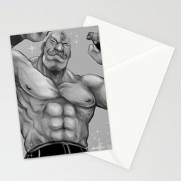 Major Alex Louis Armstrong - Black and White Stationery Cards