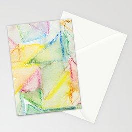 Watercolor Triangle Pattern - Katrina Niswander Stationery Cards