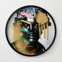 Composition 527 Wall Clock
