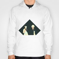atlas Hoodies featuring CLOUD ATLAS by Itxaso Beistegui Illustrations