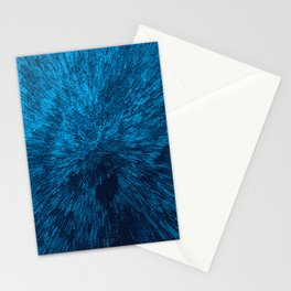 Bold Burst in Blue Stationery Cards