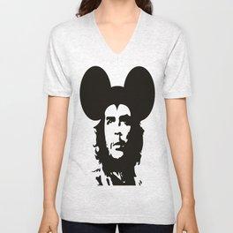 Guevara Mouse Unisex V-Neck