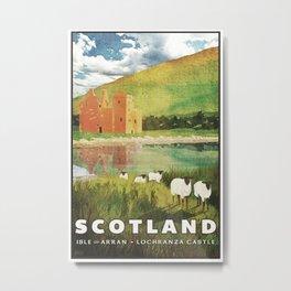 Scotland, Isle of Arran Metal Print