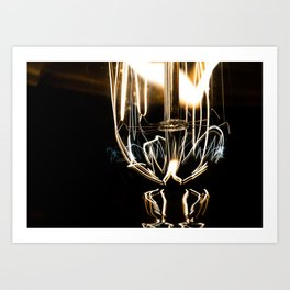Lights on Art Print