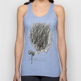 time, city and lost dream Unisex Tank Top