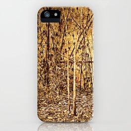 Bamboo Autumn iPhone Case