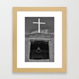 San Miguel Belfry Framed Art Print