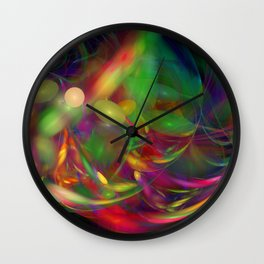 Jelly Bean Swirl Wall Clock