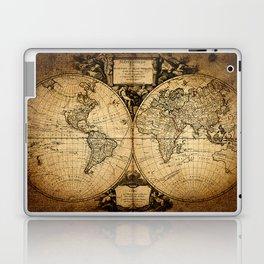 World Map 1752 Laptop & iPad Skin