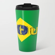 colors of brazil - lets dance brazilian zouk Travel Mug