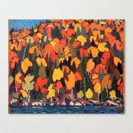 Tom Thomson ‑ Autumn Foliage - Canada, Canadian Oil Painting - Group of Seven Canvas Print