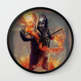 The Warlock Apollo Wall Clock