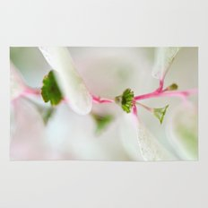 Tiny Trumpet Flower Rug