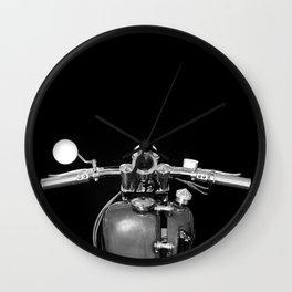 Handlebars Wall Clock