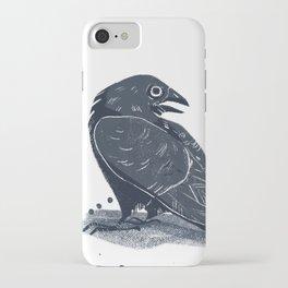 Blue Ravens iPhone Case