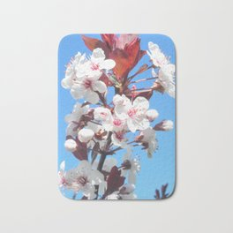 Plum Tree Bath Mat