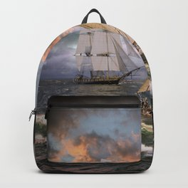 SAILING THE SEA Backpack