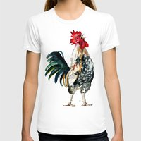 rooster T-shirts featuring Rooster by Bridget Davidson
