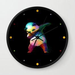 Dabbing Panda Wall Clock