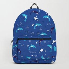 Sealife - Blue Backpack