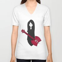 marceline V-neck T-shirts featuring Marceline Variant by SBTee's
