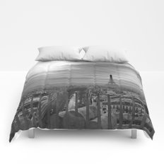 Parisian Skyline Comforters