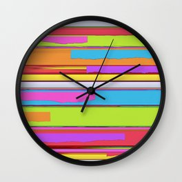 Side streets Wall Clock