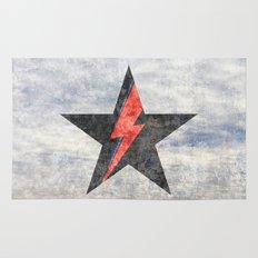 BlackStarMan (waiting in the sky) Rug