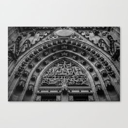looking up at st. vitus Canvas Print