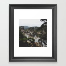 Bluefish Cove Framed Art Print
