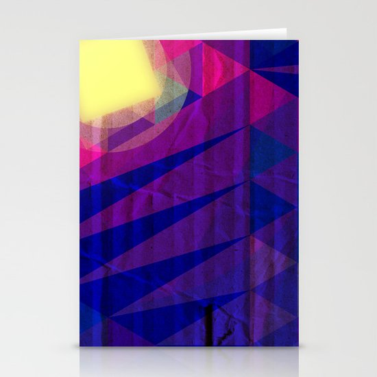 Intergalactic Sunrise Stationery Cards