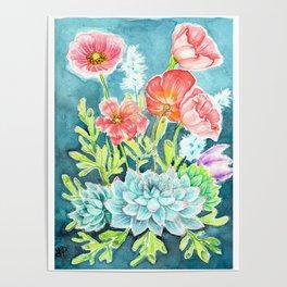Botanical Aquarelle Poster