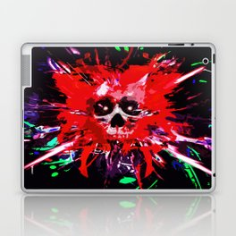 Splatter Skull (red) Laptop & iPad Skin